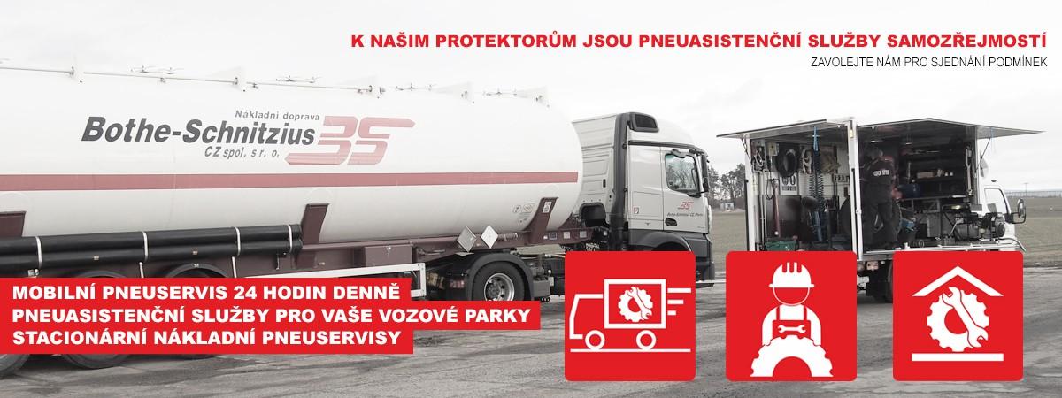 Naše pneuasistenční služby pro Vás